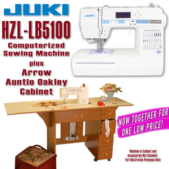 Juki Sewing Machine Arrow Sewing Cabinet Combo 9