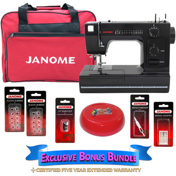 Janome HD40 Black Edition Sewing Machine With Bonus Accessories Beauteous Janome Hd1000 Black Edition Heavy Duty Commercial Grade Sewing Machine