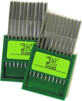 Organ Industrial 135-17 Needles (Quantity 100) - Size 100/16
