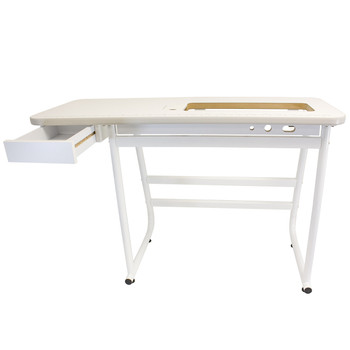 Janome tables free shipping over 2999 janome sewing table for mid arm high speed machines 9 inch throat watchthetrailerfo
