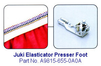 Juki Elasticator Serger Foot Fits MO-600, MO-700, MO-104D and MO-114D Series Sergers