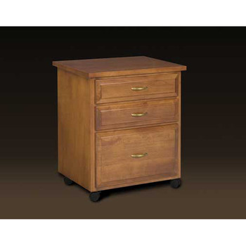 Schrocks of Walnut Creek 3-Drawer Caddy in Birch