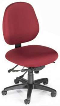 Sew-Ergo Advantage Perfect Sewing Chair  Upholstered Back Model PC58, Holds up to 300 Lbs.