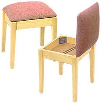 Comfee 1500N Heavy-Duty School Sewing Stool by Stump Home Specialties