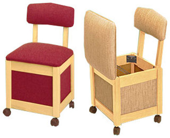 Comfee II 9200N Hassock / Sewing Chair by Stump Home Specialties