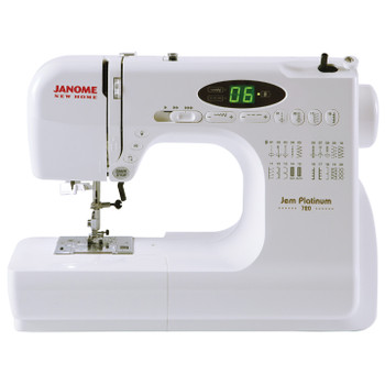 Janome New Home JNH720 Jem Sewing Machine - Front View