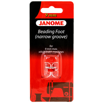 Janome Narrow Groove Beading Foot For 9mm Machines