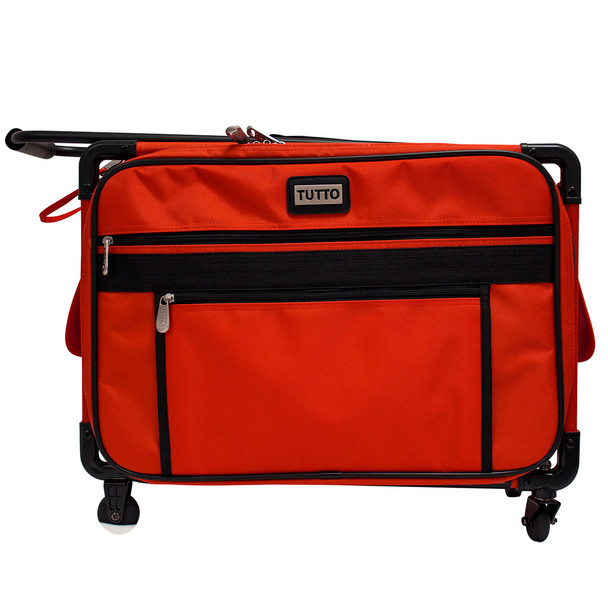Tutto 40 Medium Sewing Machine Bag On Wheels Cherry Red 4040 Unique Sewing Machine Bags On Wheels