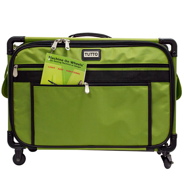 Tutto 40 Large Sewing Machine Bag On Wheels Lime 4040 FREE Mesmerizing Sewing Machine Carriers With Wheels