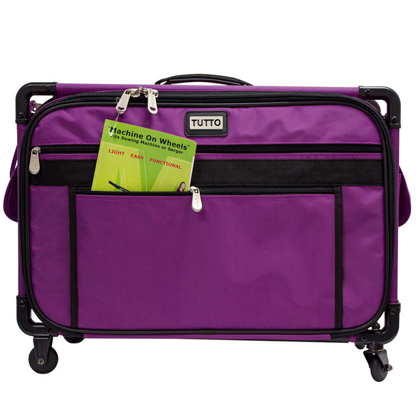 Tutto 40 Large Sewing Machine Bag On Wheels Purple 4040 FREE Delectable Sewing Machine Bags On Wheels