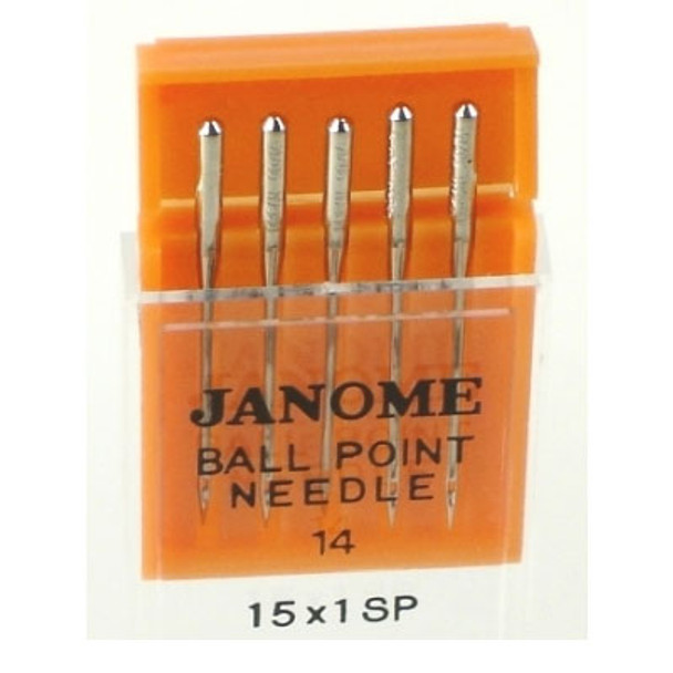 Janome Ball Point Size 14 Needle Pack