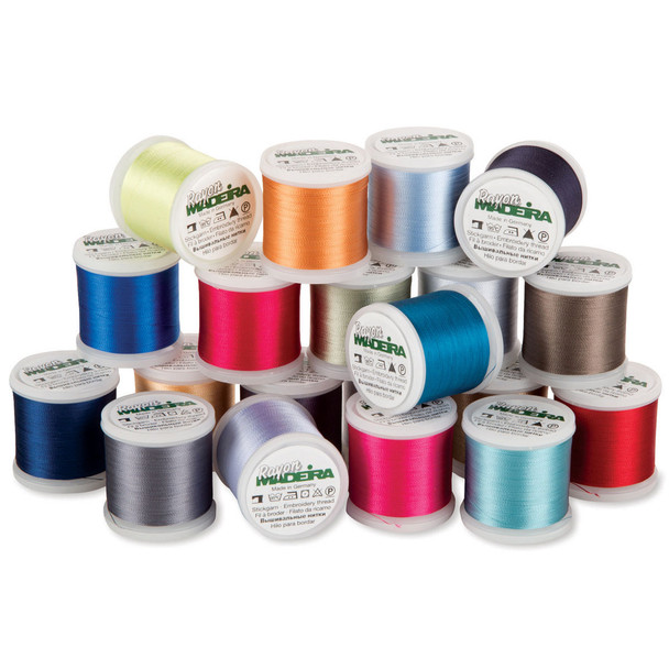 Madeira 20 Spool Embroidery Thread Value Pack Rayon