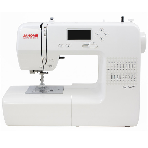Janome DC1018 Sewing Machine - Front View