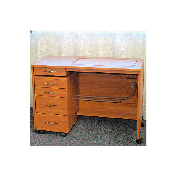Fashion 387-Q Sewing Table (4 Drawer Caddy Sold Separately)