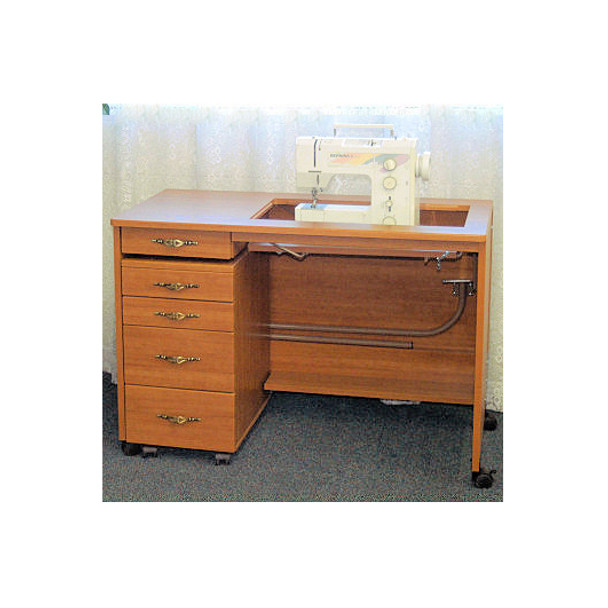 Fashion 387-Q Sewing Table (4 Drawer Caddy and Sewing Machine Sold Separately)