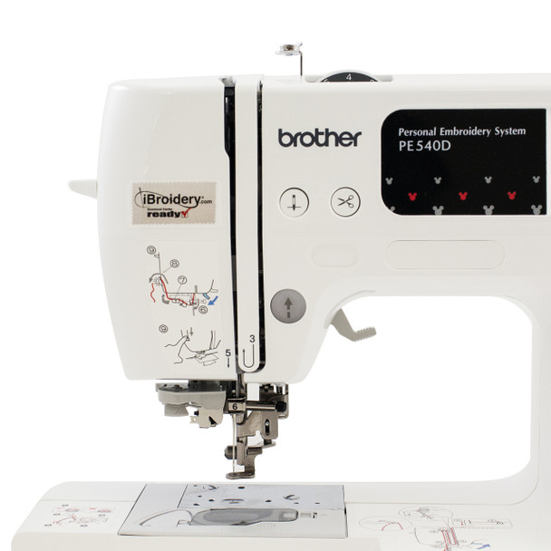 Brother PE540D Disney Embroidery Only Machine head area
