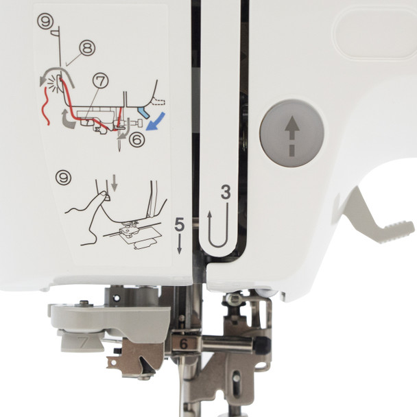 Brother PE540D Disney Embroidery Only Machine stitch guide