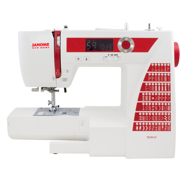 Janome DC2015 Computerized Sewing Machine - Alternate Front View