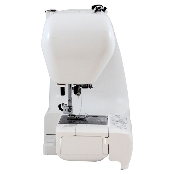 Janome Jem Gold Plus 661G Trim & Stitch Side View