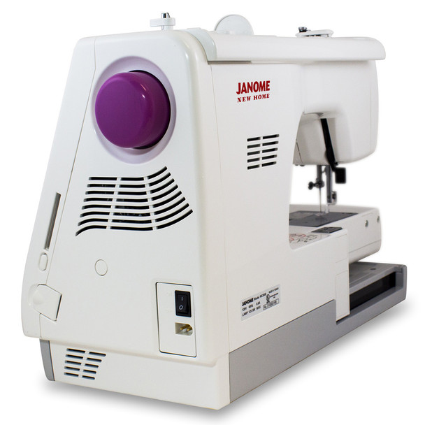 Janome Memory Craft 350E Embroidery Machine (Refurbished) - Side view