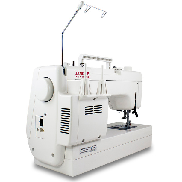 Janome Memory Craft 6300P Refurbished Sewing Machine - Side View