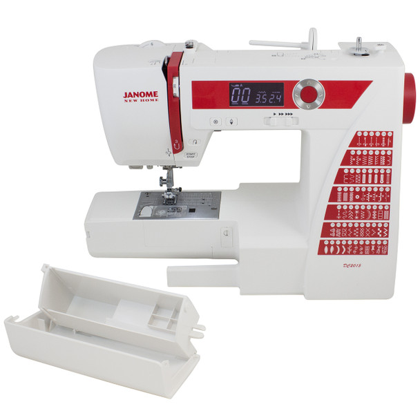 Janome DC2015 Computerized Refurbished Sewing Machine - Bobbin housing