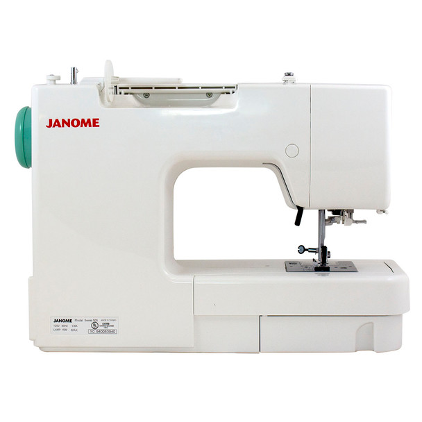 Janome Sewist 500 Refurbished Sewing Machine - Rear view