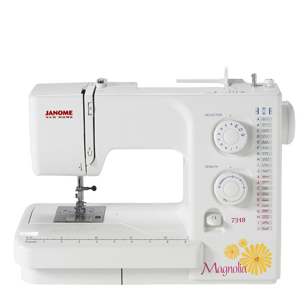 Janome Magnolia 7318 Refurbished Sewing Machine - Front view