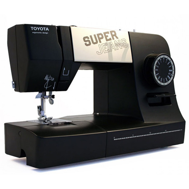 Toyota J17 Super Jeans Sewing Machine side view