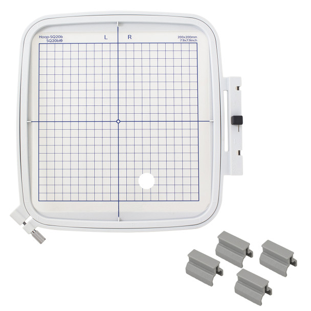 Janome Memory Craft 400E Embroidery Machine - Embroidery Hoop