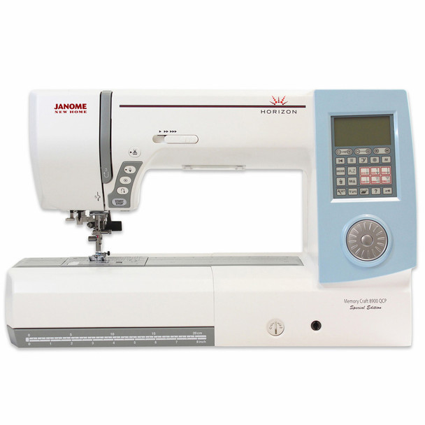 Janome Horizon Memory Craft 8900QCP Special Edition Sewing and ...