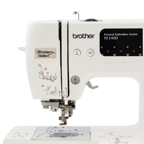 Brother PE540D Disney Embroidery Machine head