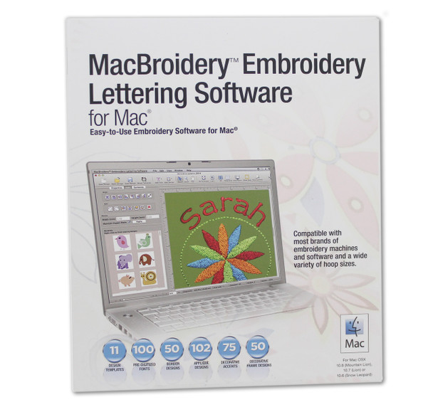 Brother Macbroidery Embroidery Lettering Software For Mac 29999