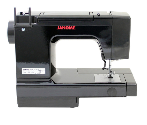 Janome HD 1000 Black Edition Sewing Machine - Rear View