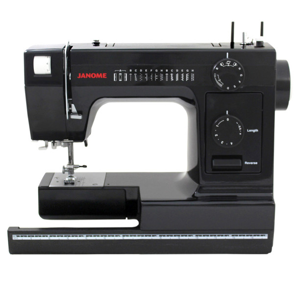 Janome HD 1000 Black Edition Sewing Machine - Extended Table