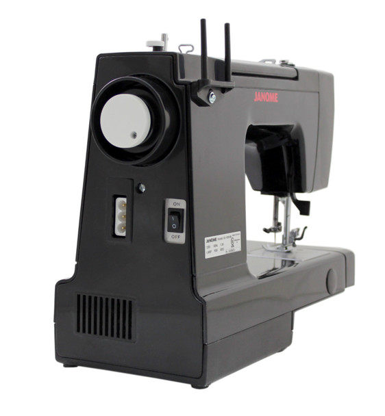 Janome HD1000 Black Edition Sewing Machine (Refurbished) - Side View (1)