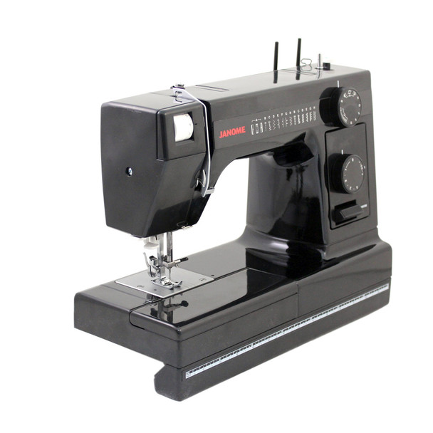 Janome HD1000 Black Edition Sewing Machine (Refurbished) - Quarter View