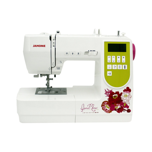 Janome AMH M100 Computerized Sewing Machine - Front View