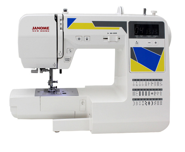 Janome MOD-30 Computerized Sewing Machine (Refurbished) - Bobbin case removed