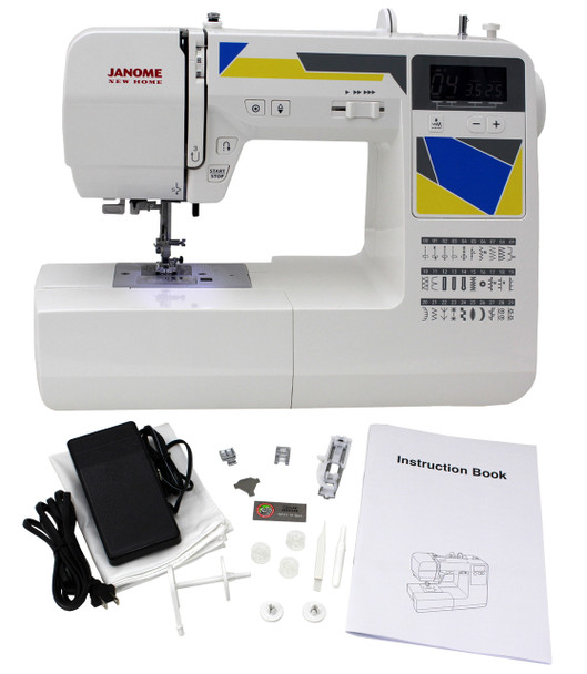 Janome MOD-30 Computerized Sewing Machine (Refurbished) - Machine with accessories