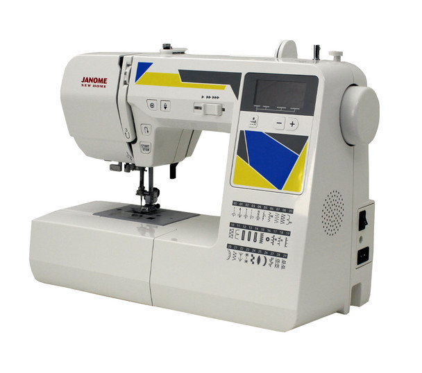 Janome MOD-30 Computerized Sewing Machine (Refurbished) - Quarter view right side