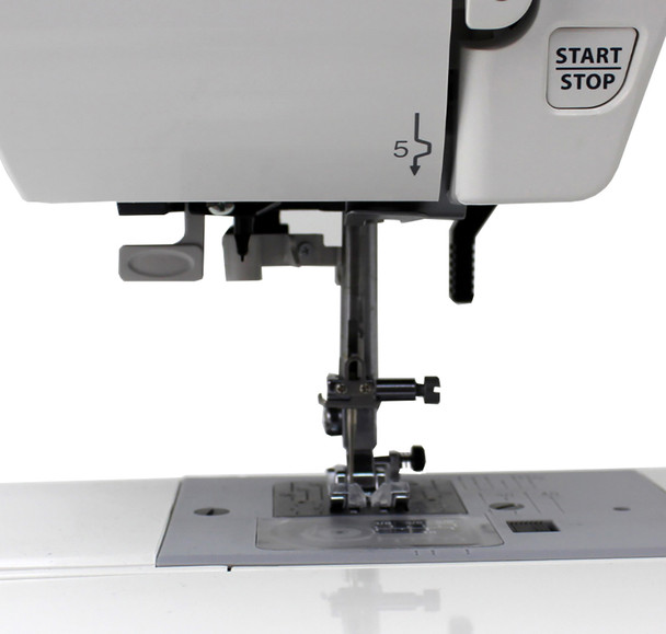 Janome MOD-30 Computerized Sewing Machine (Refurbished) - Needle area and start/stop button