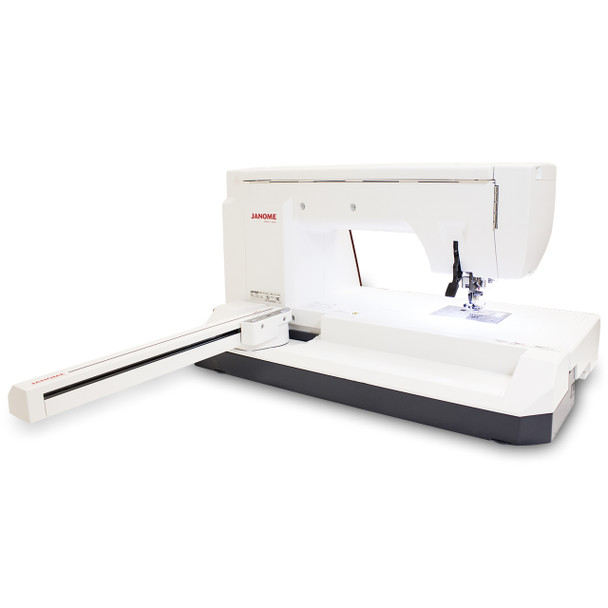 Janome Memory Craft 14000 Sewing and Embroidery Machine - Fold Out Hoop