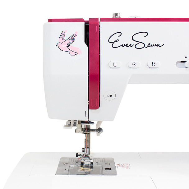 EverSewn Sparrow 25 – 197 Stitch Computerized Sewing Machine head