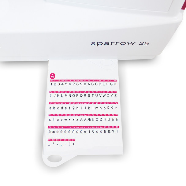 EverSewn Sparrow 25 – 197 Stitch Computerized Sewing Machine stitch chart continued