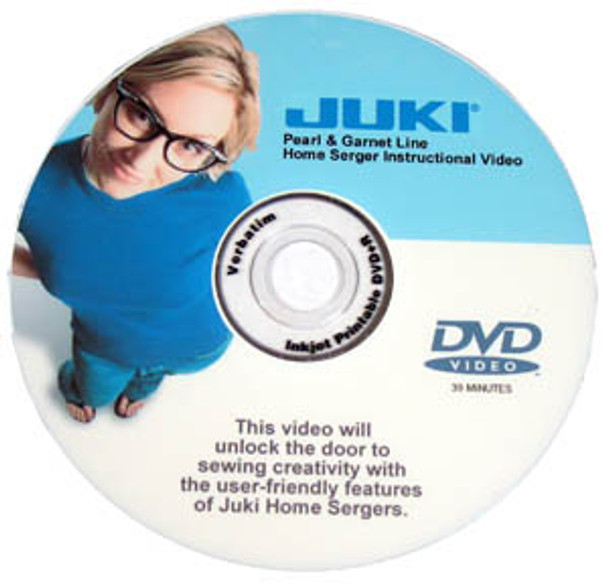 Juki 600 Series Serger Instructional DVD