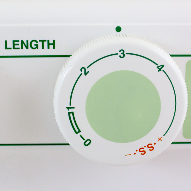 Janome 2212 - Sewing Machine Length