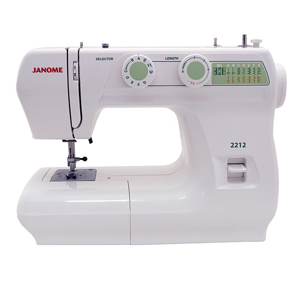 Janome 2212 - Sewing Machine Includes Exclusive Bonus Bundle