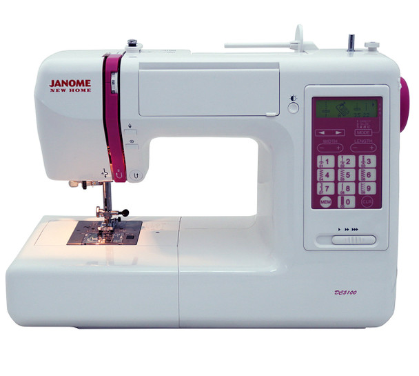 Janome DC40 Computerized Sewing Machine With Exclusive Bonus Awesome Refurbished Sewing Machines Sale
