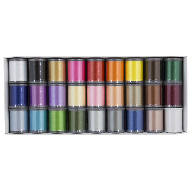 Janome Polyester Embroidery Thread Assortment 1